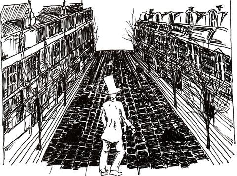 Kierkegaard sketch